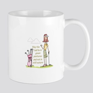 LIE IN GREEN PASTURES Mugs