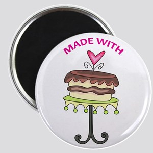 MADE WITH LOVE Magnets