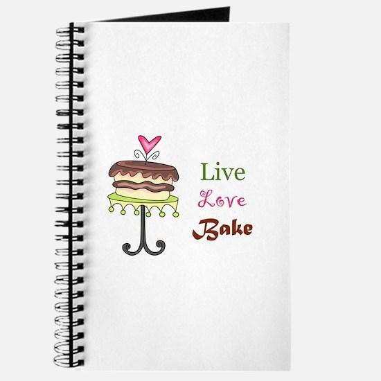 LIVE LOVE BAKE Journal