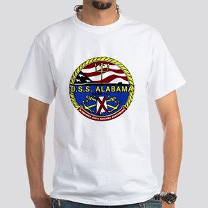 USS Alabama SSBN 731 White T-Shirt