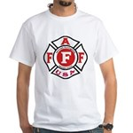 AAFF Firefighter White T-shirt