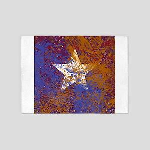 Rustic Star 5'x7'Area Rug