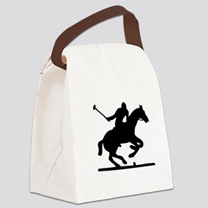 polo man Canvas Lunch Bag
