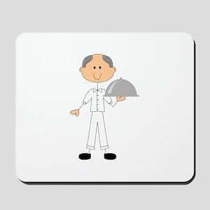 FOOD SERVICE STICK FIGURE Mousepad