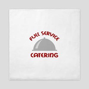 FULL SERVICE CATERING Queen Duvet
