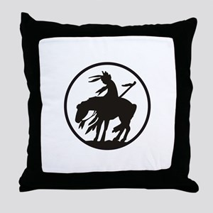 AMERICAN INDIAN OPEN Throw Pillow