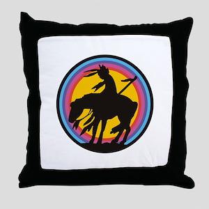 AMERICAN INDIAN Throw Pillow