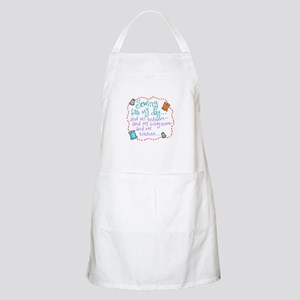Sewing Fills My Day Apron
