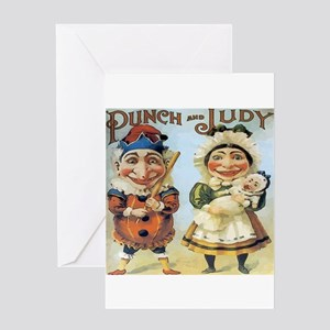 Punch and Judy Greeting Cards