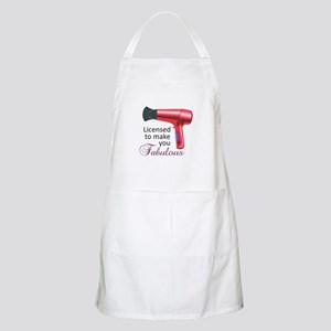 Licensed To Make You Fabulous Apron
