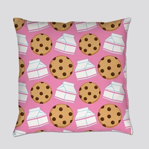 Milk and Cookies Pattern Master Pillow