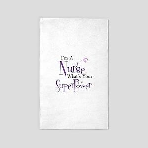 Super nurse copy Area Rug