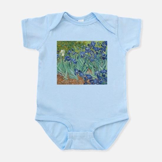 Van Gogh Irises Body Suit