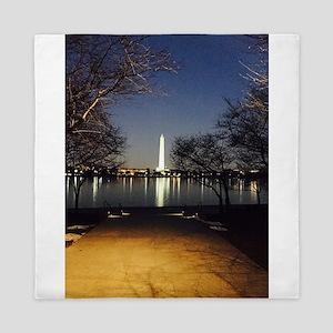 Washington Monument Queen Duvet
