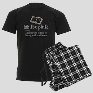 Bibliophile - Men's Dark Pajamas