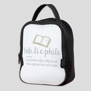 Bibliophile - Neoprene Lunch Bag