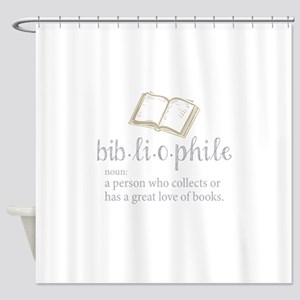 Bibliophile - Shower Curtain