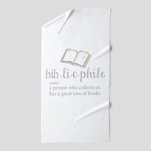 Bibliophile - Beach Towel