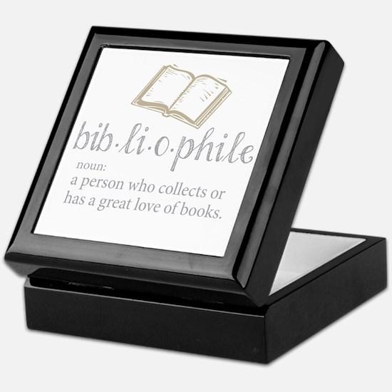 Bibliophile - Keepsake Box