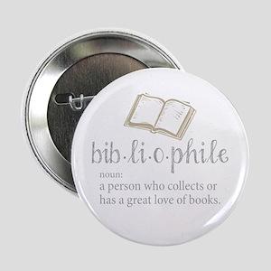 """Bibliophile - 2.25"""" Button"""