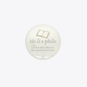 Bibliophile - Mini Button