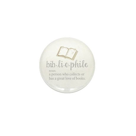 Bibliophile - Mini Button