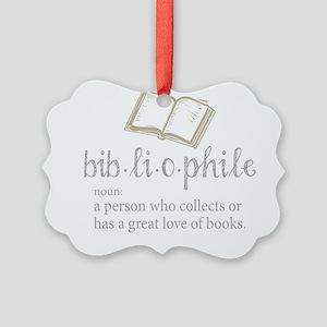 Bibliophile - Picture Ornament