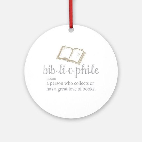 Bibliophile - Ornament (Round)