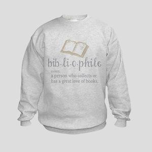 Bibliophile - Kids Sweatshirt