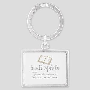 Bibliophile - Landscape Keychain