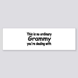 This is no ordinary Grammy you're dealing with Bum