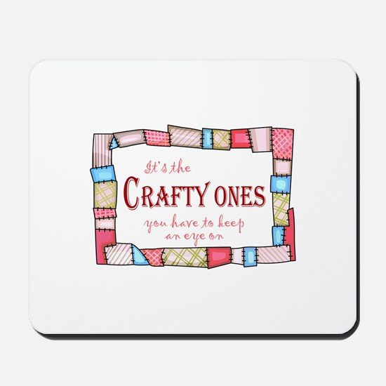 QUILTING HUMOR Mousepad
