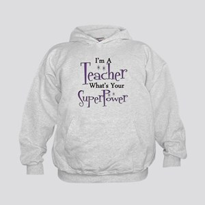 super teacher Kids Hoodie