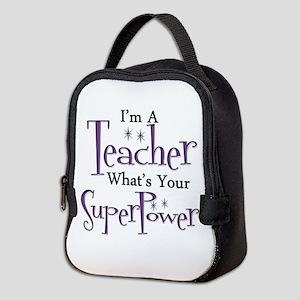 super teacher Neoprene Lunch Bag