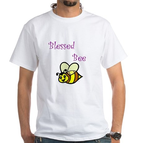 Blessed Bee White T-shirt