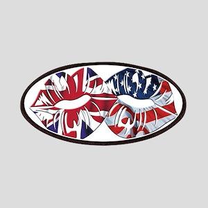 US UK Transatlantic Kiss Patch