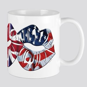 US UK Transatlantic Kiss Mug
