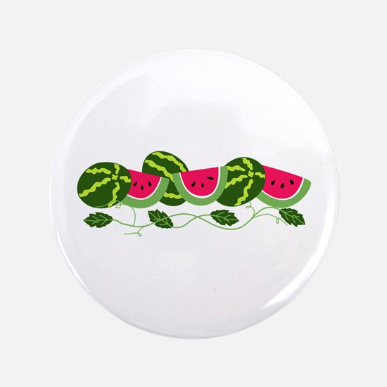 "Watermelons Patch 3.5"" Button"