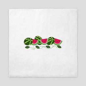 Watermelons Patch Queen Duvet