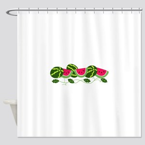 Watermelons Patch Shower Curtain