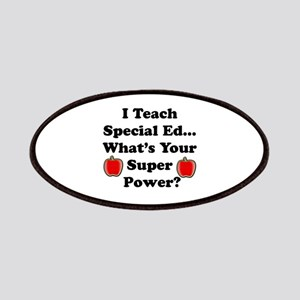 I teach special ed Patches