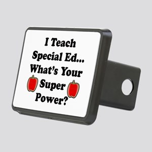 I teach special ed Rectangular Hitch Cover