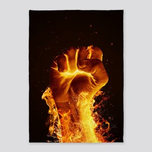Fire Fist 5'x7'Area Rug
