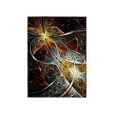 Colorful Artistic Fractal 5'x7'Area Rug