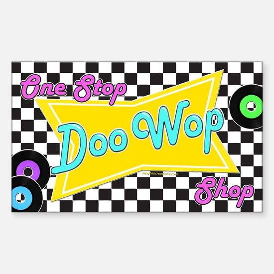 One Stop Doo Wop Shop Decal