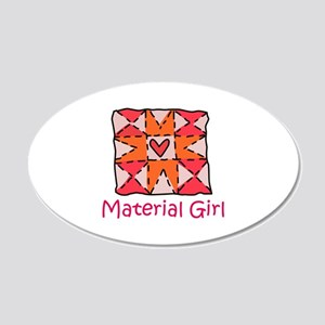 Material Girl Wall Decal
