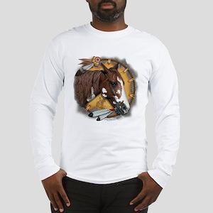 War Pony & Shield Long Sleeve T-Shirt