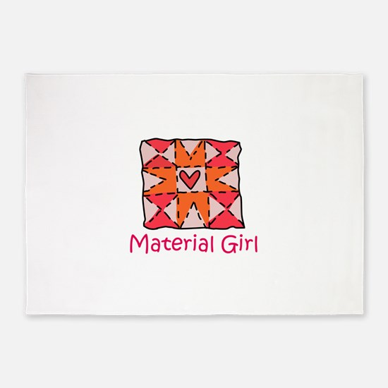 Material Girl 5'x7'Area Rug