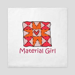 Material Girl Queen Duvet