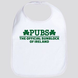 Pubs official sunblock of Ireland Bib